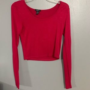 Rue 21 long sleeve crop top